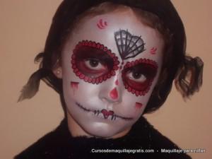 Maquillaje para niñas bruja